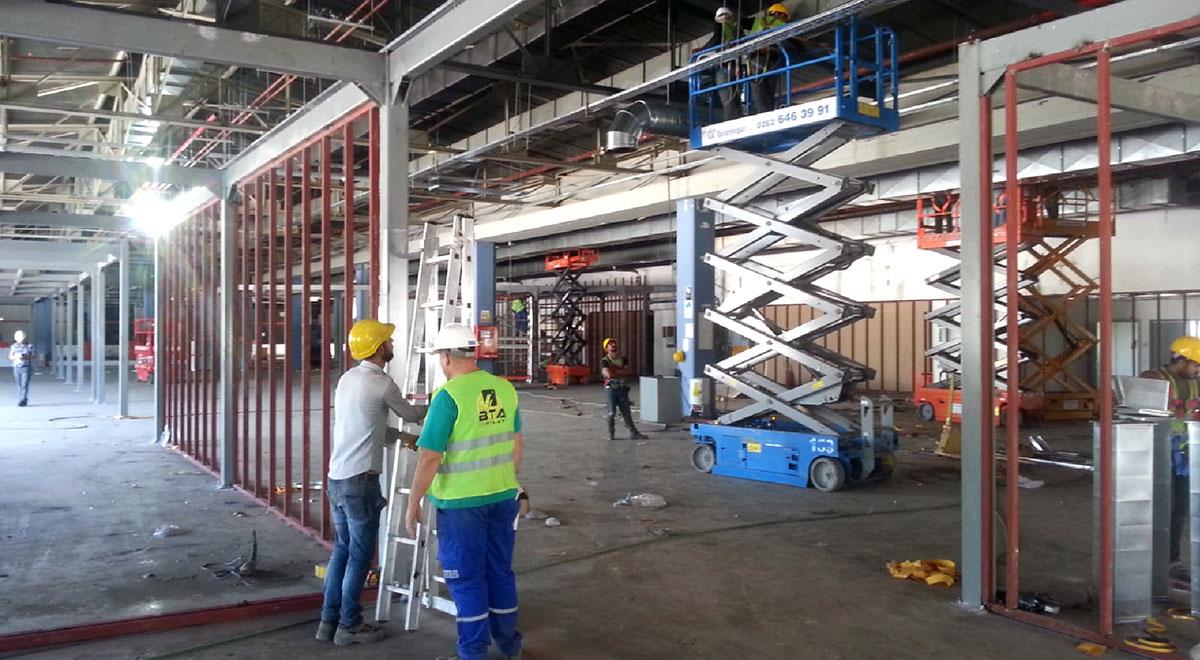Siemens Kartal Kampüsü'nün Yenileme Çalışmaları başlıyor…