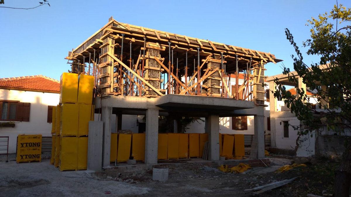 Sığacık Butik OtelProjemizin İnşaatıTüm Hızıyla Devam Ediyor…